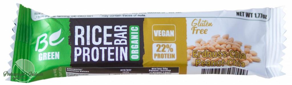 Be Green-Protein-Riegel-Test-Zutaten