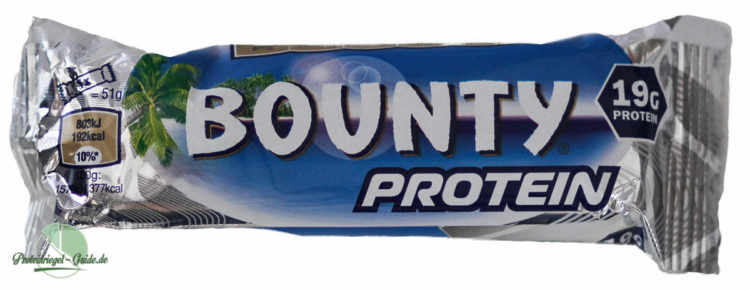 Bounty-Protein-Bar-Test-Verpackung