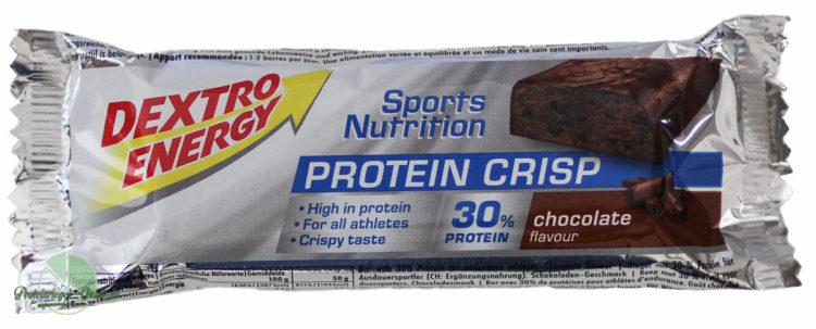 Dextro-Energy-Protein-Crisp-Test-Verpackung