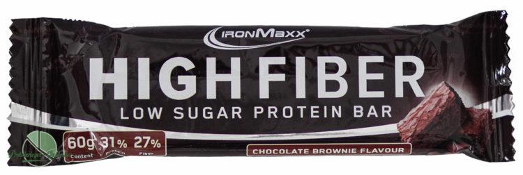 Ironmaxx-High-Fiber-Proteinriegel-Test-Verpackung