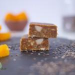 Jiminis-Aprikose-Protein-Riegel-Test