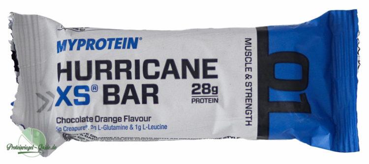 Myprotein-Hurricane-XS-Test-Verpackung