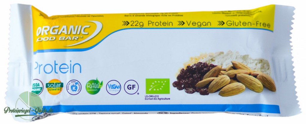 Organic Food Bar-Protein-Riegel-Test-Zutaten