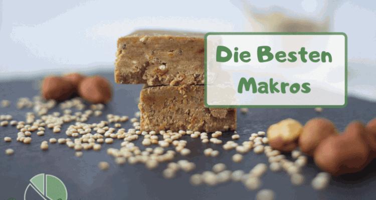 Top 10 beste Makronährstoffe